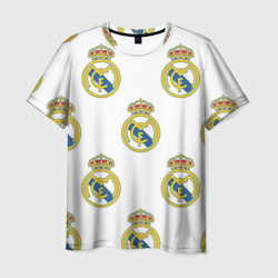 Мужская футболка 3DReal Madrid