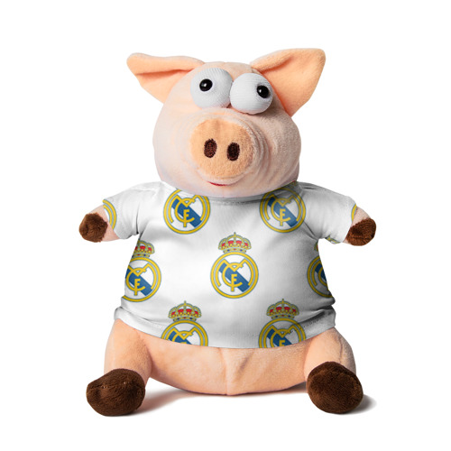 Свинка в футболке 3D Real Madrid