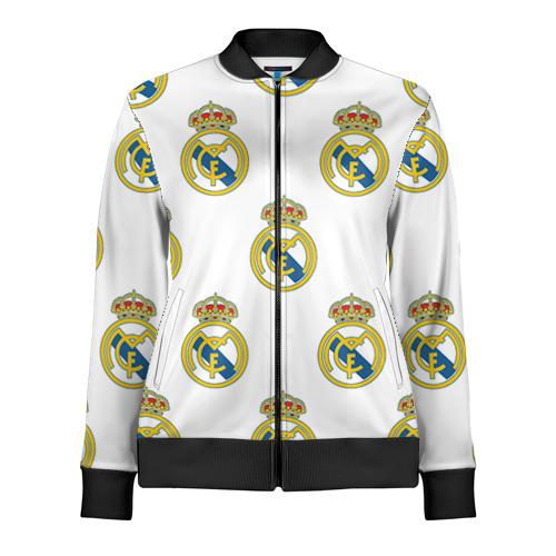 Женская олимпийка 3D Real Madrid