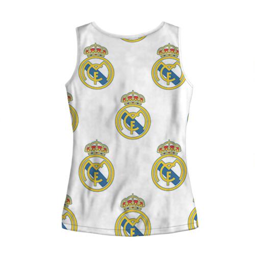 Женская майка 3D  Фото 02, Real Madrid