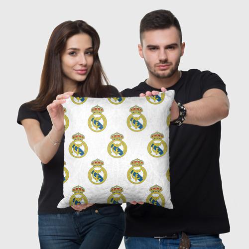 Подушка 3D Real Madrid Фото 01