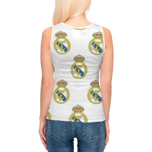 Женская майка 3D  Фото 04, Real Madrid