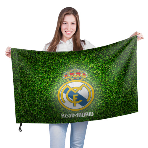 Флаг 3D Real Madrid