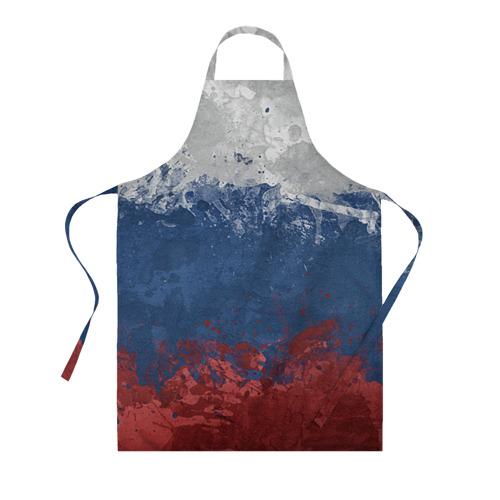 Фартук 3D Флаг России Фото 01