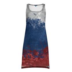 Платье-майка 3DФлаг России