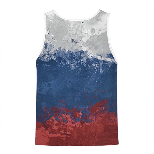 Мужская майка 3D Флаг России Фото 01