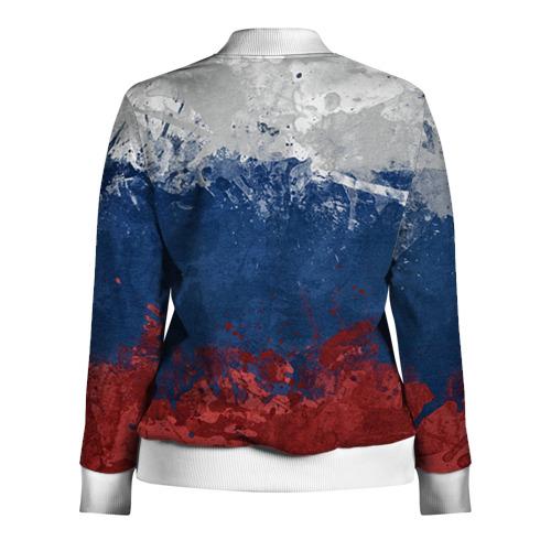 Женская олимпийка 3D  Фото 02, Флаг России