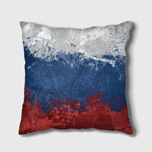 Подушка 3D Флаг России Фото 01
