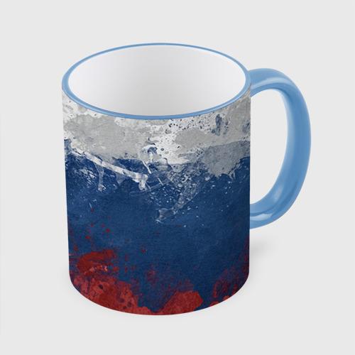Кружка с полной запечаткой Флаг России