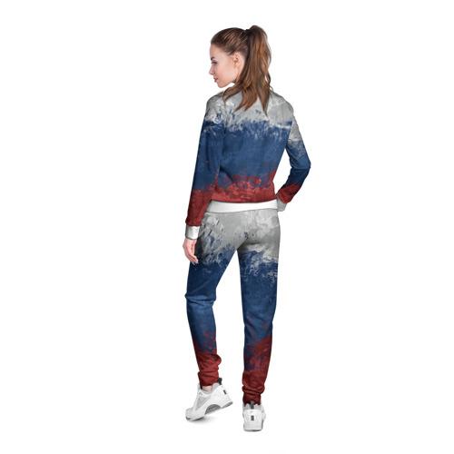 Женская олимпийка 3D  Фото 04, Флаг России