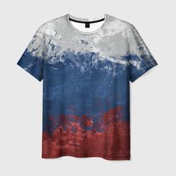 Мужская футболка 3DФлаг России