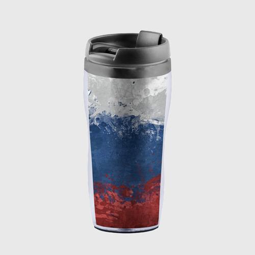 Термокружка-непроливайка Флаг России