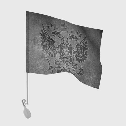 Флаг для автомобиля Герб России