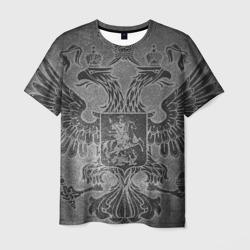 Мужская футболка 3DГерб России