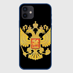 Чехол для iPhone 12 Pro Mini Герб России
