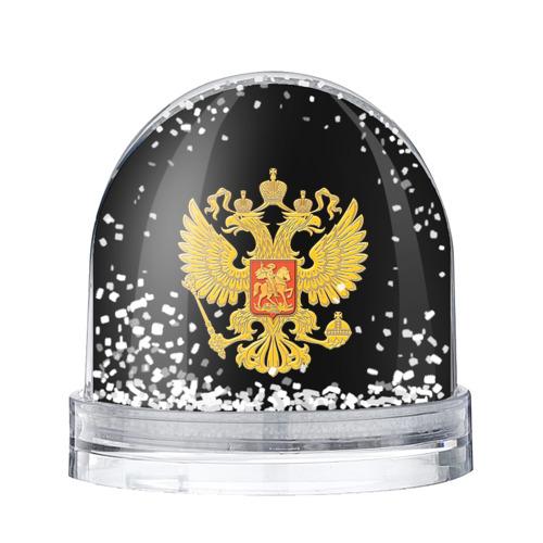 Водяной шар со снегом Герб России