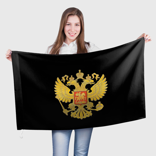 Флаг 3D Герб России