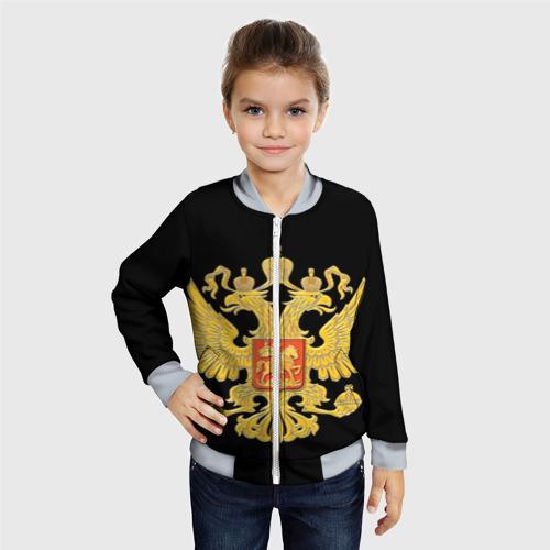 Детский бомбер 3D  Фото 06, Герб России