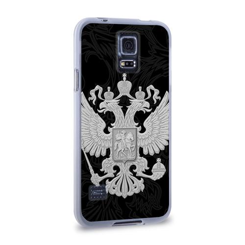 Чехол для Samsung Galaxy S5 силиконовый  Фото 02, Герб России