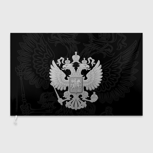 Флаг 3D  Фото 03, Герб России