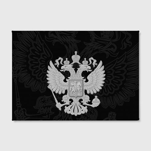 Холст прямоугольный Герб России Фото 01