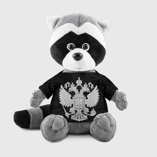 Енотик в футболке 3D Герб России