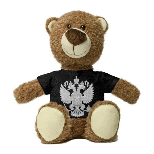 Миша в футболке 3D Герб России Фото 01