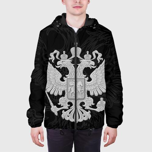 Мужская куртка 3D Герб России Фото 01