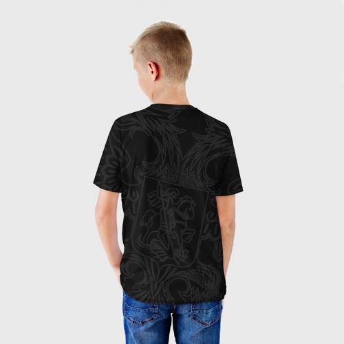 Детская футболка 3D Герб России Фото 01