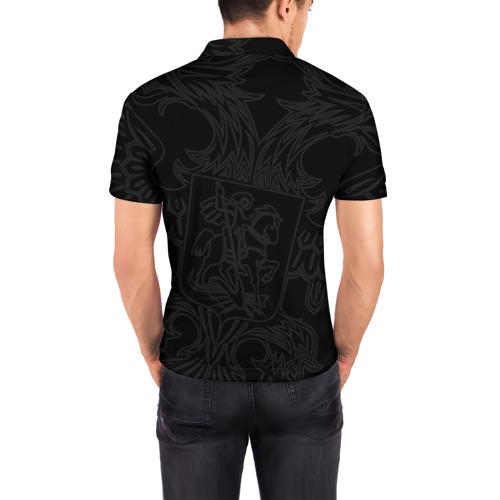 Мужская рубашка поло 3D  Фото 04, Герб России