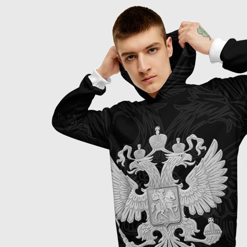 Мужская толстовка 3D Герб России