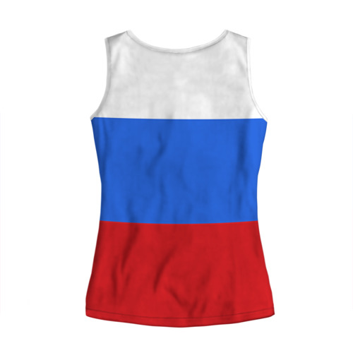 Женская майка 3D  Фото 02, Флаг и герб РФ