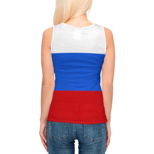 Женская майка 3D  Фото 04, Флаг и герб РФ