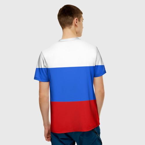 Мужская футболка 3D  Фото 04, Флаг и герб РФ