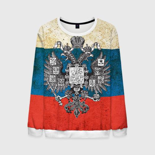 """Мужской свитшот 3D с полной запечаткой """"Россия"""" - 1"""