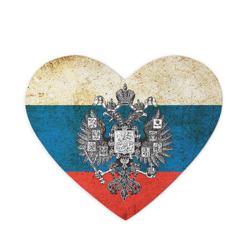 Коврик для мыши сердце Россия