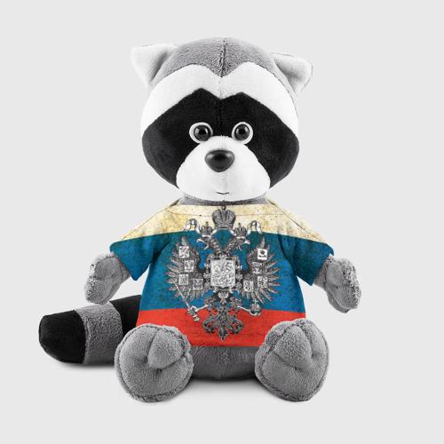 Енотик в футболке 3D Россия