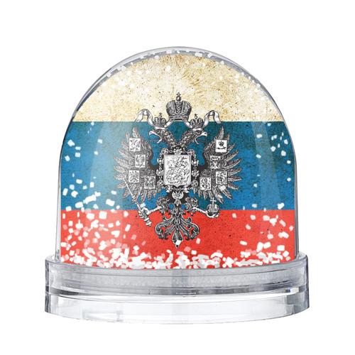 Водяной шар со снегом Россия