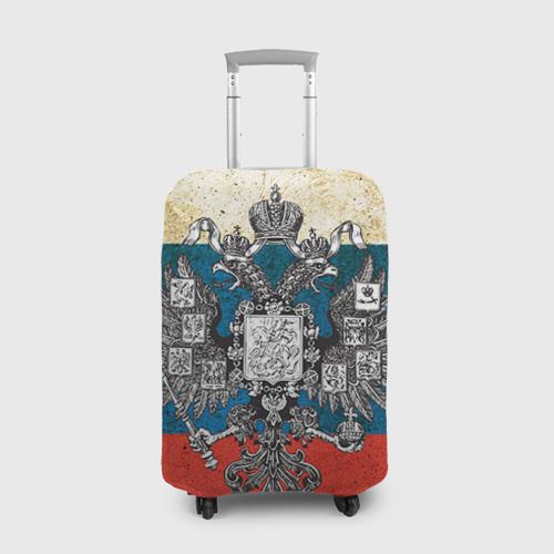Чехол для чемодана 3D Россия