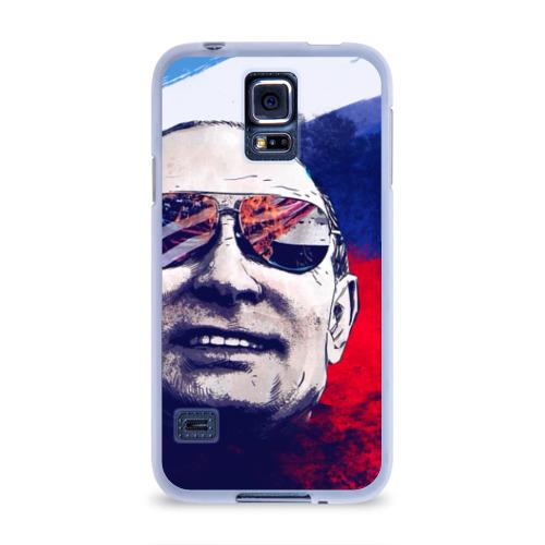 Чехол для Samsung Galaxy S5 силиконовый Путин