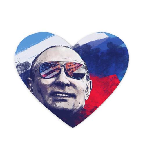 Коврик для мыши сердце Путин