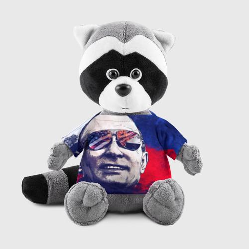 Енотик в футболке 3D Путин