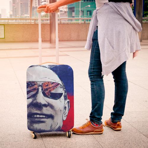 Чехол для чемодана 3D Путин Фото 01