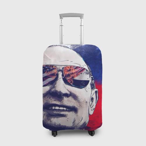 Чехол для чемодана 3D Путин