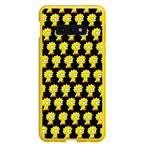 Чехол для Samsung S10E Лиза Симпсон Фото 01