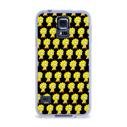 Чехол для Samsung Galaxy S5 силиконовый  Фото 01, Лиза Симпсон