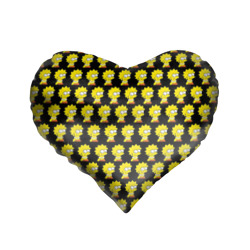 Подушка 3D сердцеЛиза Симпсон