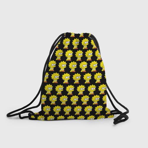 Рюкзак-мешок 3D Лиза Симпсон