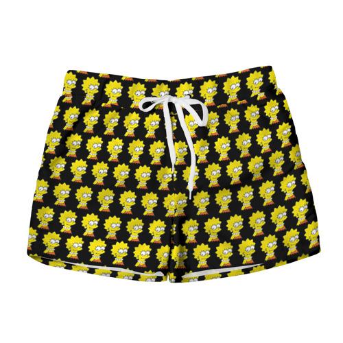 Женские шорты 3D Лиза Симпсон