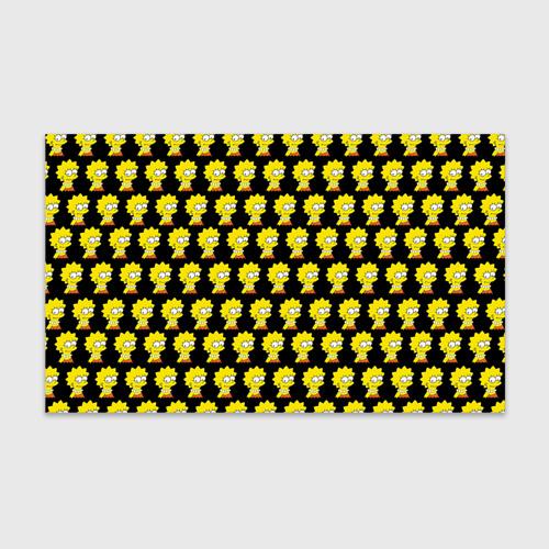 Бумага для упаковки 3D Лиза Симпсон